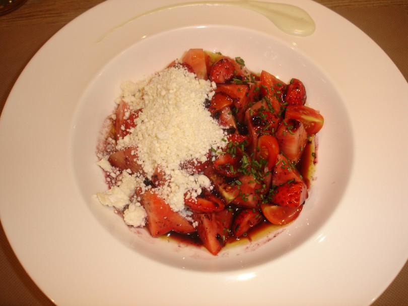 Ensalada de tomate (La Tolva)