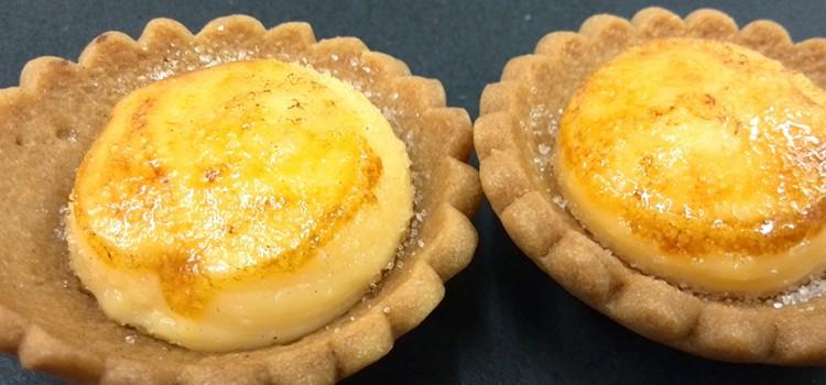 Tartaleta de crema de limón