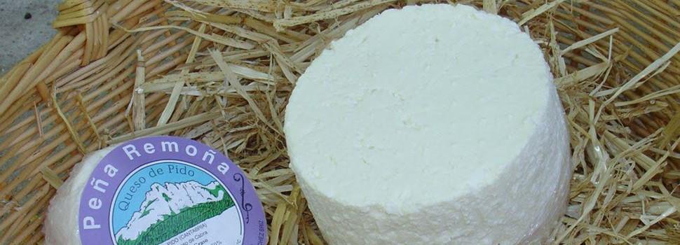 Cuajada de leche y queso de Pido